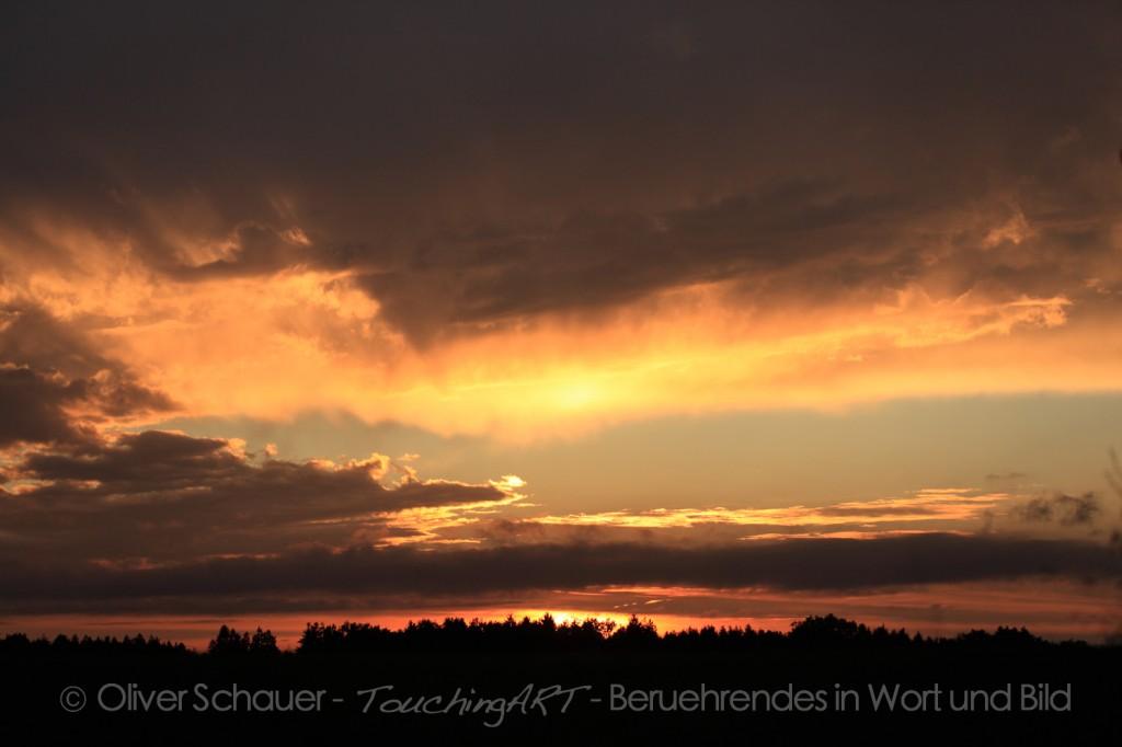 Sonnenuntergang nähe Gilching
