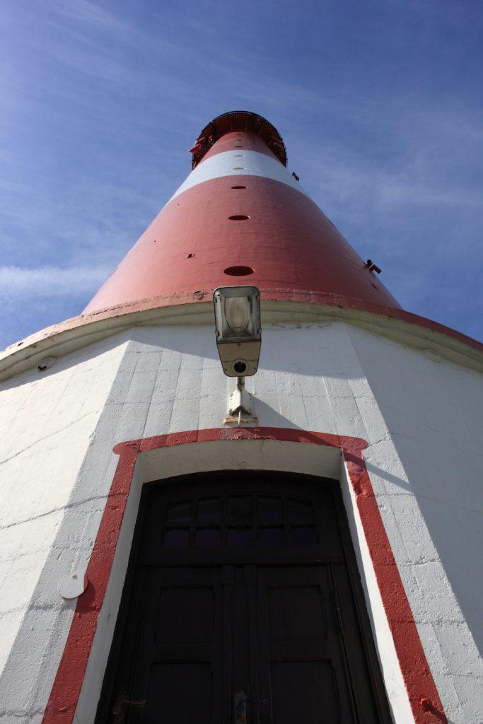Leuchtturm von unten