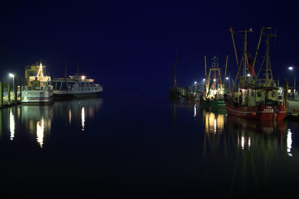 Tammensiel bei Nacht